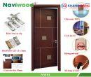 Cửa gỗ composite Naviwood NW01