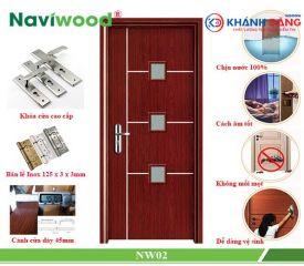 Cửa gỗ composite Naviwood NW02