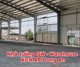 Công trình Nhà xưởng GW Warehouse Long An