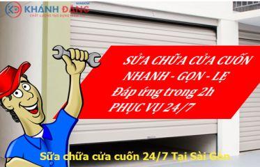 Dịch Vụ Sửa Chữa Cửa Cuốn Tại Quận Tân Bình TPHCM
