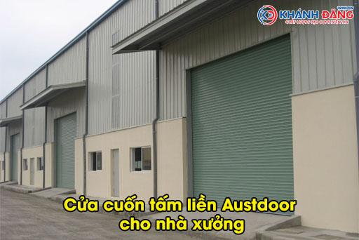 5 đặc điểm ấn tượng của cửa cuốn tấm liền austdoor cho nhà xưởng