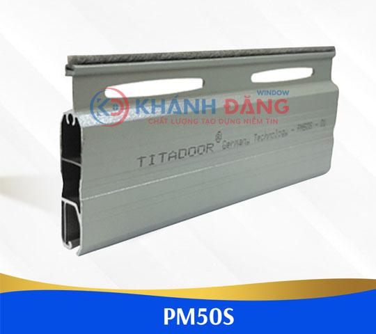 cửa cuốn nan nhôm titadoor PM50s