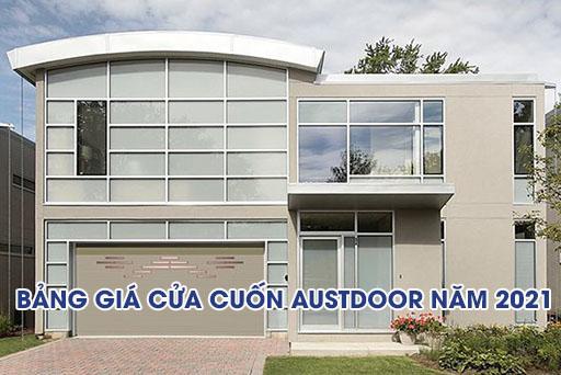 bảng giá cửa cuốn austdoor 2021