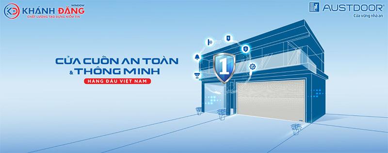 cửa cuốn austdoor an toàn thông minh hàng đầu Việt Nam