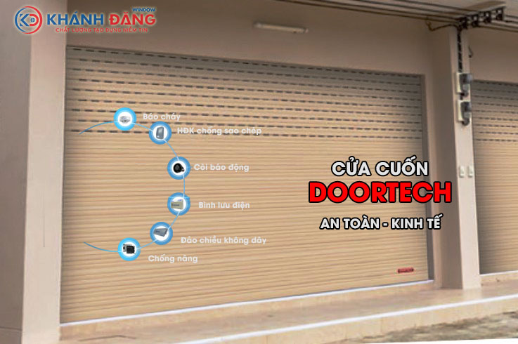 cửa cuốn Doortech giá rẻ