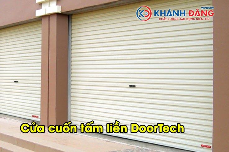 Cửa cuốn tấm liền Doortech